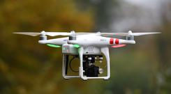 The warning came as Ireland is on course to have 10,000 drones registered by early 2019. Stock Image: PA