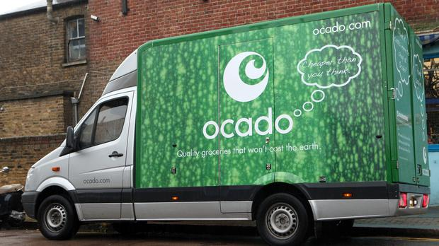 Bosses at Ocado are set to share out an extra £9 million in bonuses after the online grocer's shares have rocketed thanks to a string of international deals. (Katie Collins/PA)