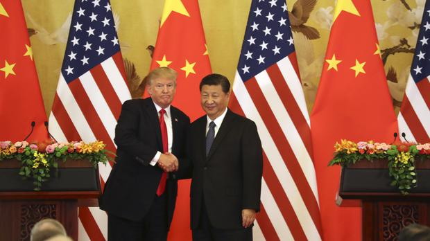The US said the new levies are a response to China's decision to retaliate against the first round of tariffs (Andrew Harnik/AP)