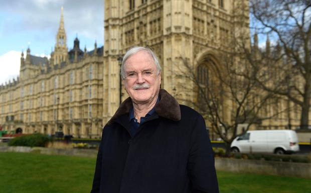 John Cleese is moving to the Caribbean island of Nevis. Photo: PA