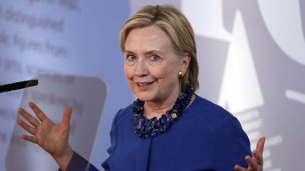 The Russians are alleged to have hacked into the computer networks of Hillary Clinton's presidential campaign (Steve Parsons/PA)