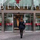 Shares in Debenhams sagged on Monday (Peter Byrne/PA)