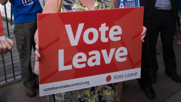 Vote Leave has been referred to the police (Stefan Rousseau/PA)