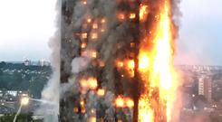 Deputy assistant commissioner Adrian Fenton said he would not expect crews on the ground to be looking out for the possibility that flames would take hold from top to bottom of the block, calling the incident