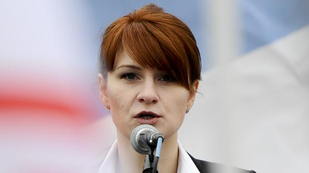 Maria Butina, pictured in 2013 (AP)