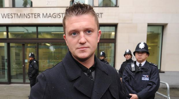 Congressman condemned over backing for UK far-right activist Robinson