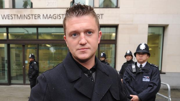 Tommy Robinson (Anthony Devlin/PA)