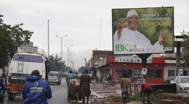 Extremist attacks cast shadow over Mali's presidential election