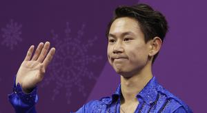 Denis Ten, pictured at the Winter Olympics (David J. Phillip/AP)