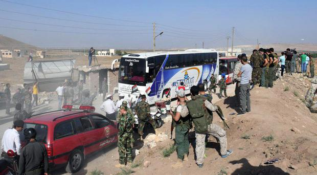 US, Britain and Canada to evacuate Syrian aid workers