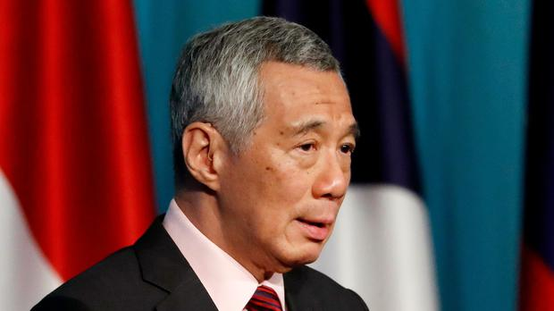 Singapore's Prime Minister Lee Hsien Loong (AP)