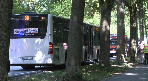 Several injured in attack on bus in Germany – police