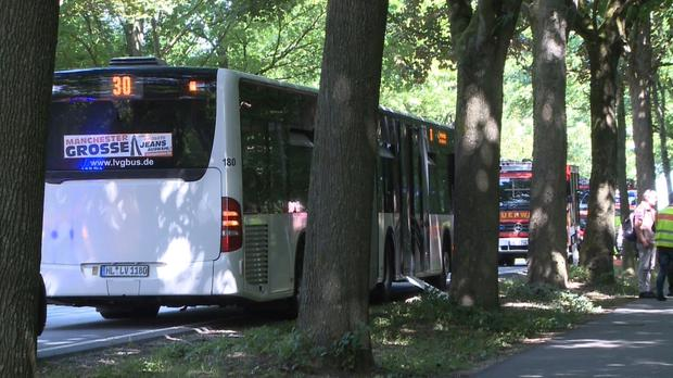 German police: 8 injured in bus attack; suspect arrested