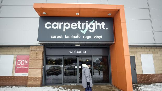 Carpetright is among those to have issued profit warnings (Danny Lawson/PA)