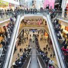 Shoppers at the Bullring shopping centre in Birmingham, owned by Hammerson (PA)