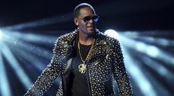 R. Kelly performing at the BET Awards in Los Angeles (Frank Micelotta/Invision/AP)