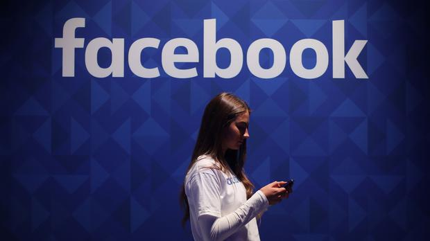 Facebook shares were down (Niall Carson/PA)
