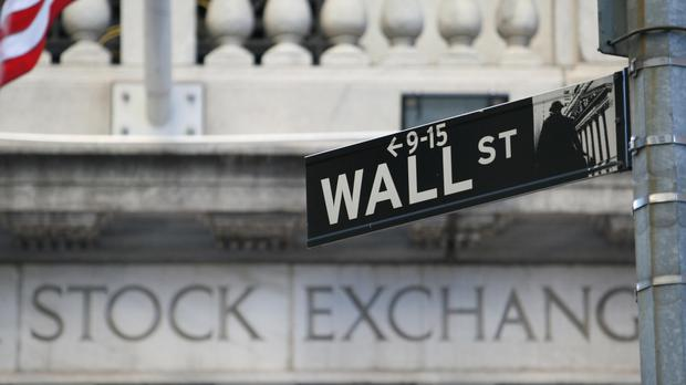 A sign for Wall Street (Martin Keene/PA)