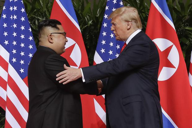 Kim Jong Un and Donald Trump (AP Photo/Evan Vucci, File)