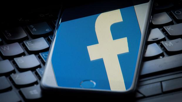 Facebook said more than 290,000 accounts followed at least one of the fake pages (PA)