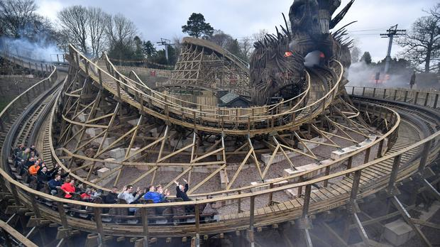Merlin Entertainments owns Alton Towers and Thorpe Park (PA)