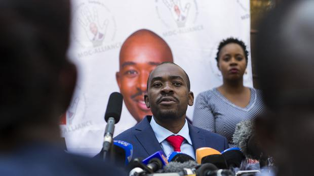 Nelson Chamisa (AP)