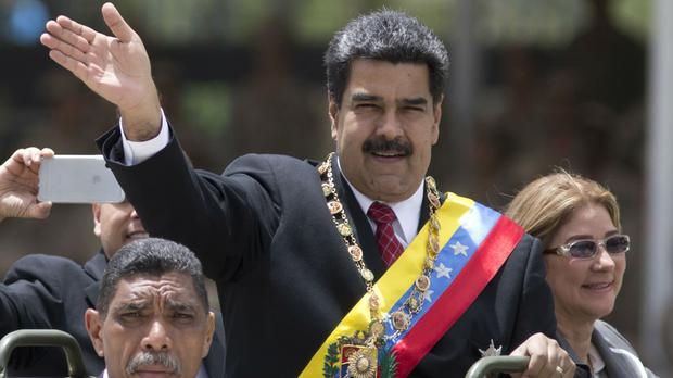 Venezuela's president Nicolas Maduro was subject of an attempted attack (Ariana Cubillos/AP)