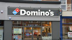 Domino's has warned about the cost base of its Norwegian business (John Godwin/PA)