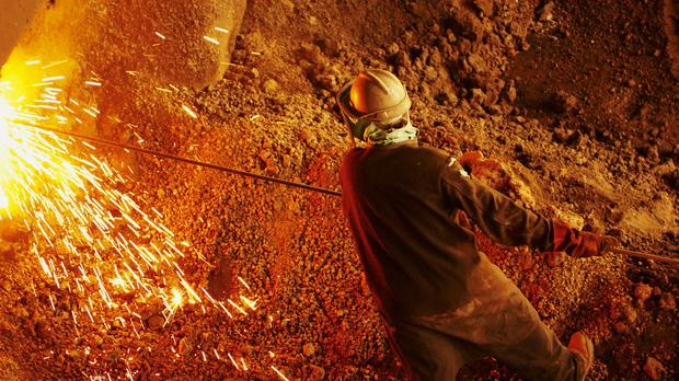 Glencore's shares were hit when news of the money laundering investigation broke (Xstrata/PA)