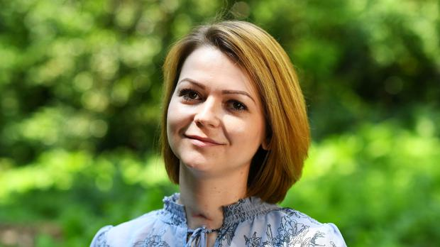 Yulia Skripal was contaminated with the nerve agent Novichok along with her father Sergei Skripal (Dylan Martinez/PA)