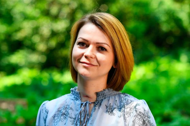 Yulia Skripal, contaminated with the nerve agent Novichok along with her father Sergei