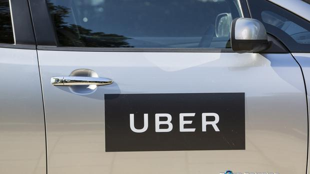 The growth of apps such as Uber is said to have worsened traffic congestion in the city (PA)