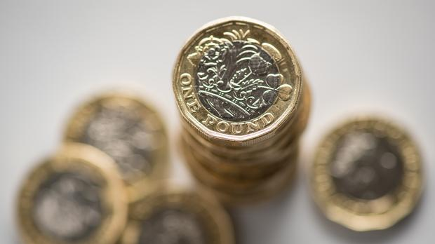 The pound has been pounded this week (PA)
