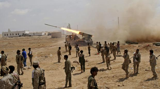 Clashes in Yemen (AP)