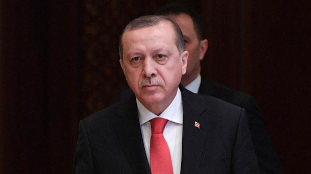 The Turkish lira has already fallen nearly 50% in the past year and was facing further pressure on Monday (Andrew Parsons/PA)
