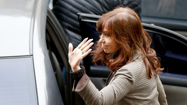 Cristina Fernandez (AP Photo/Natacha Pisarenko)