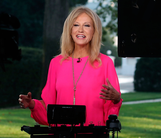 Kellyanne Conway said her husband 'disrespects' the president. Photo: Getty Images