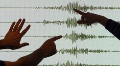 The US Geological Survey reported that the quake had a magnitude of 6.0 (PA)