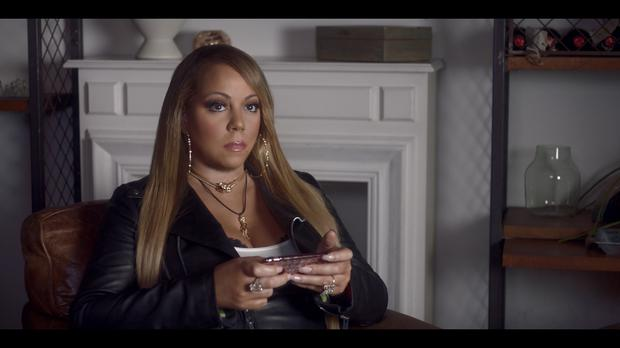 Mariah Carey in Hostelworld's latest ad campaign (Hostelworld/PA)