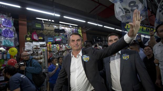 Brazil's presidential hopeful Jair Bolsonaro stabbed at rally