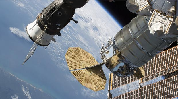 Air leaks from International Space Station, astronauts safe