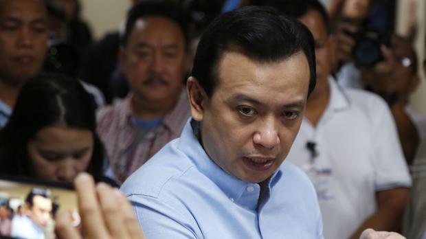 Antonio Trillanes IV (AP Photo/Bullit Marquez)