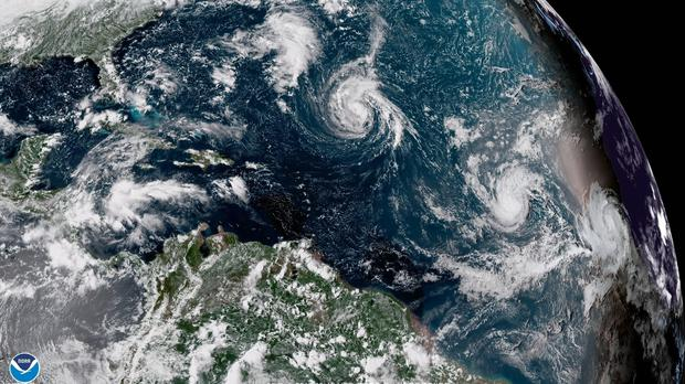 Florence has strengthened from a Tropical Storm to hurricane force (AP)