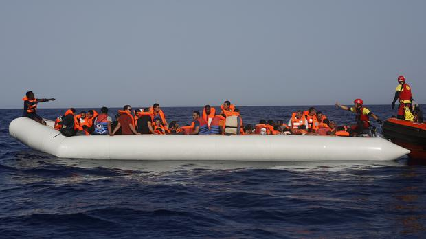 More than 270 people were rescued by the Libyan Coast Guard (Renata Brito/AP/PA)
