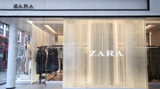 Zara's owner has reported record sales and profits (Yui Mok/PA)