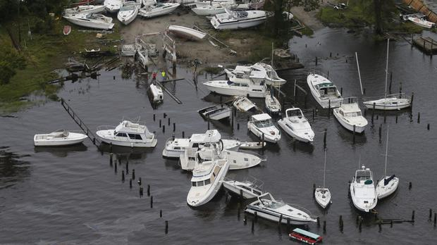 The flooding that has come about from tropical storm Florence could be the worst North Carolina has ever seen (AP Photo/Steve Helber)