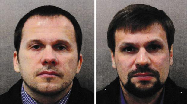 Alexander Petrov is accused along with Ruslan Boshirov of poisoning Sergei Skripal and his daughter Yulia (Metropolitan Police/PA)
