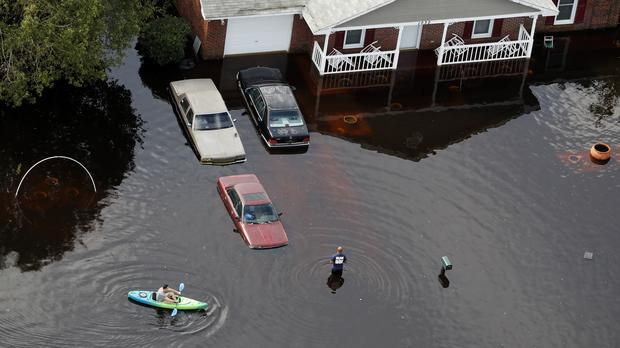 Image result for Florence gone but its flooding a crisis in parts of North Carolina -