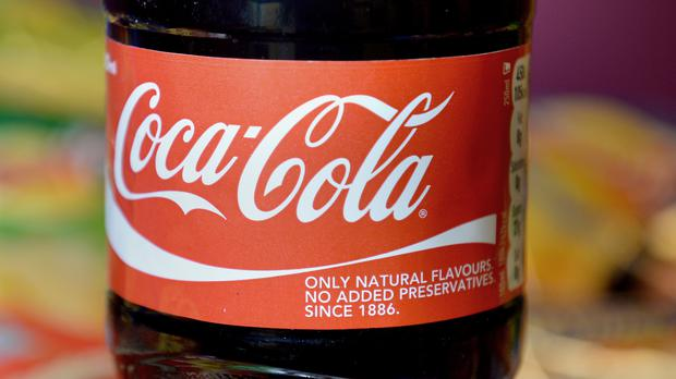 """Coca Cola said it was """"closely watching"""" the development of the cannabis industry."""