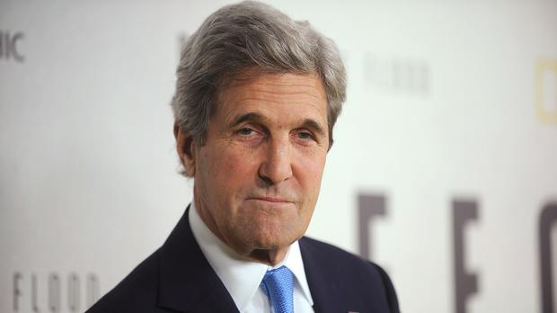 Former US Secretary of State John Kerry. Picture: PA